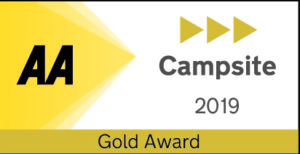 Roselands Campsite gold award