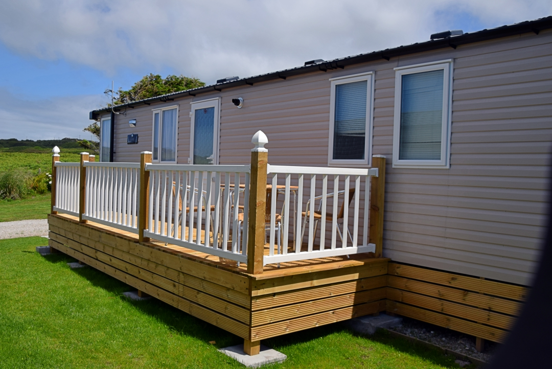 Sennen Decking from back